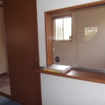 控え室入口(玄関)