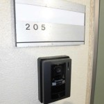 TVモニター付きインターフォン(玄関)