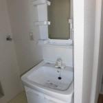 室内洗濯機置場(洗面所)